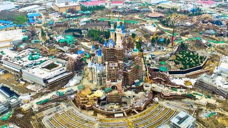 Pembangunan Disneyland Shanghai